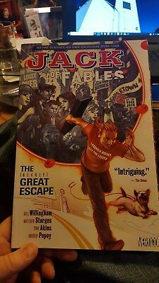 Jack of Fables Vol. 1: The [Nearly] Great Escape used. Good condition.  Fables