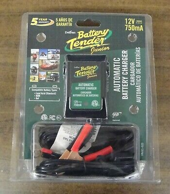 Deltran Battery Tender Jr Junior Maintainer Charger 021-0123 12V  Volt Trickle A