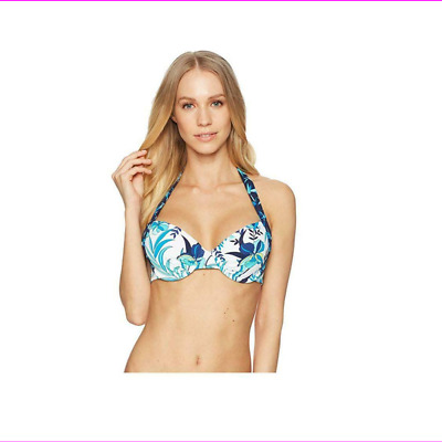 235218dea684b Tommy Bahama Women's Molded underwire cups provide lift and coverage Swim  Top