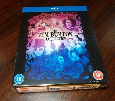 THE TIM BURTON Collection [Blu-ray] 8-Movie Box Set-NEW-Free S&H with Tracking