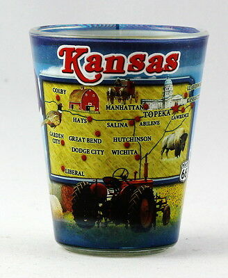 Kansas State Collage Shot Glass Rtp