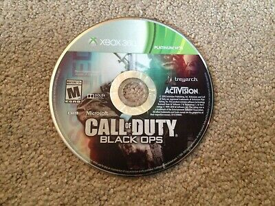 Call of Duty: Black Ops (Microsoft Xbox 360, 2010) Zombies *Disc Only*