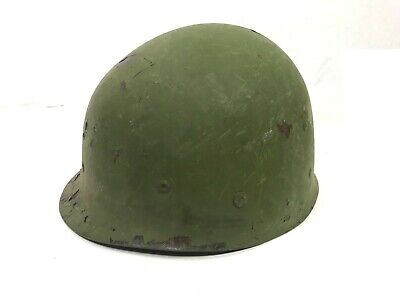 WW2 Helmet Liner, Firestone 38 Re-used with 70's sweatband