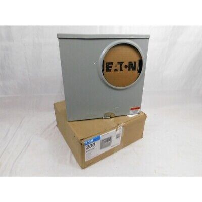 Eaton UFHTRS223ACH Meter Socket, 200A, Ringless