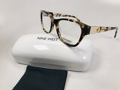 5438068285 New Nine West NW5080 291 Nude Tortoise Eyeglasses 48mm with Case   Cloth