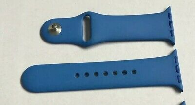GENUINE APPLE WATCH SPORT BAND STRAP 38MM / 40MM S/M Discontinued ROYAL BLUE