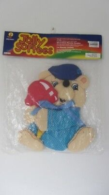 Vintage 1985 Jolly Softees Soft Sculpture Wall Hanging  In Original Sealed Pack