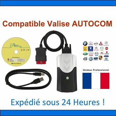 Interface de diagnostique Auto multimarque pro Bluetooth OBD2 avec assistance