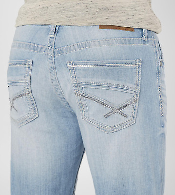 356bf7aacb1 new BKE Jake Boot Stretch Jean - Men's Jeans in Sidell 2 | Buckle light  32x32