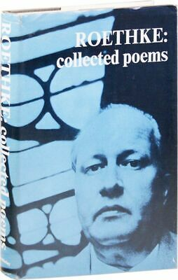 Theodore Roethke COLLECTED POEMS 1st ed/DJ 1966 VG+ condition