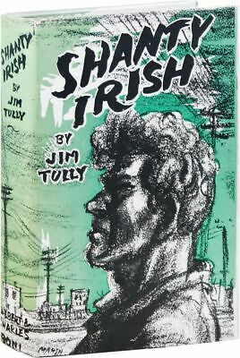 Jimy Tully SHANTY IRISH in DJ 1928 Near Fine condition Irish immigrant novel