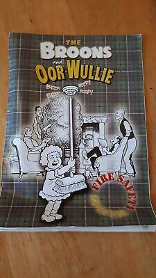 Authentic  The  Broons and Oor Wullie Fire Safety Special comic