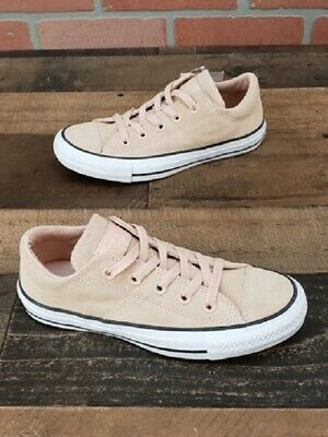 abc72ae6eef New Converse Chuck Taylor All Star Ox Madison Dust Pink Suede Shoes Women s  ...