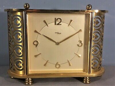 Vintage  IMHOF 8 Day Mantel Clock Swiss Made