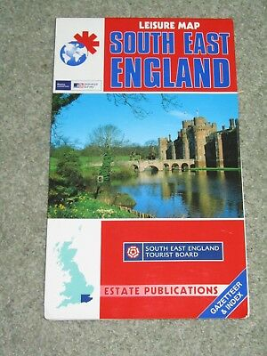 South East England Leisure Map by Estate Publications (Paperback, 2002)