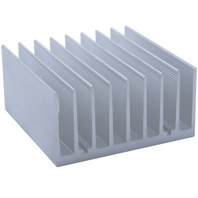 90*90*45mm Anodized Aluminium Heat Sink For CPU Power Transistor TO-126 TO-220