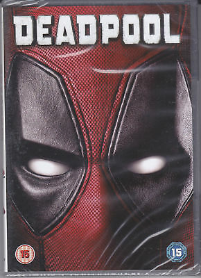 dvd nuovo sigillato DEADPOOL  FILM MARVEL con Ryan Reynolds vers italiana