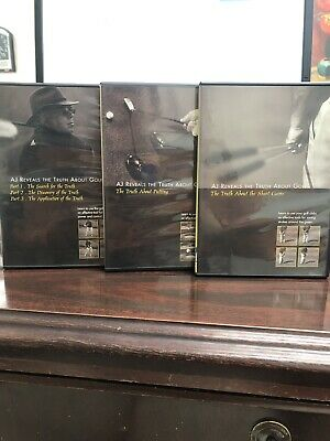 AJ Reveals the Truth About Golf DVD 3 DVD Set Instructional How To Golfer Video