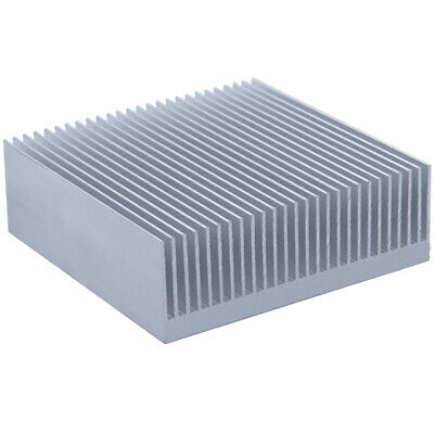 80*80*26.8mm Anodized Aluminium Heat Sink For CPU Power Transistor TO-126 TO-220