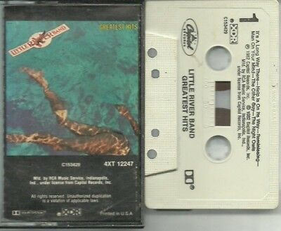 Greatest Hits By Little River Band (Double Cassette 1982 Capitol)