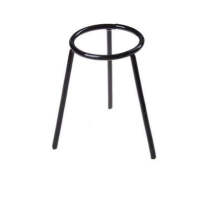 Bunsen Burner/Cast Iron Support Stand/Alcohol Lamp Tripod Holder 13cm HQ