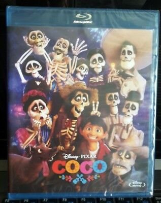 Bluray Coco Disney Pixar (2017)