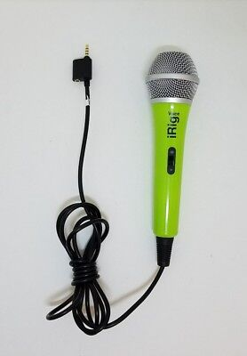 IK Multimedia iRig Voice GREEN Smartphone Tablet Mic IOS & Android Microphone