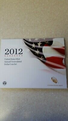 2012 US Mint Annual Uncirculated Dollar Coin Set w/American Eagle - Key Date!!!!