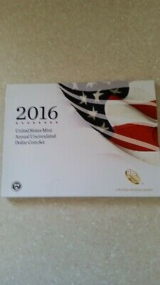 2016 US Mint Annual Uncirculated Dollar Coin Set w/American Eagle - Key Date!!!!