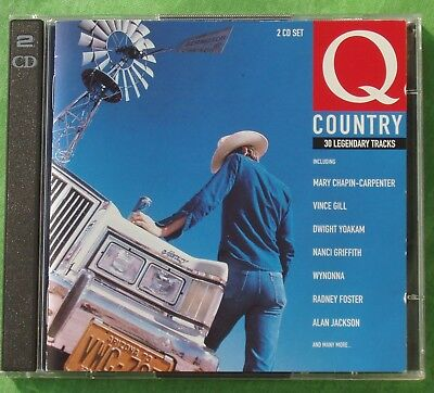 Q Country  Vince GILL, Carlen CARTER, Gram PARSONS, Elvis COSTELLO, BYRDS...