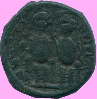 JUSTIN II Æ FOLLIS NICOMEDIA Year 5 569/570 13.23 g/27.79 mm ANC13706.16