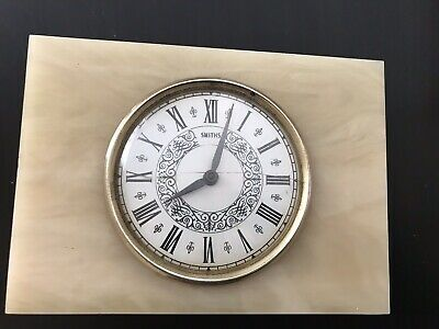 Smiths Mantel Clock  Not Sure If It Is Working Order
