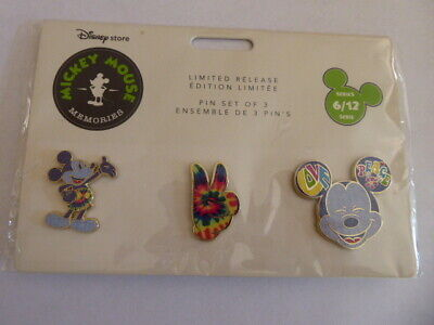 Disney Trading Broches 128506 Ds - Mickey Mouse Souvenirs - Juin - Ensemble