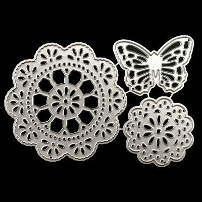Tassel circle butterfly Metal Cutting Dies For Scrapbooking Card Paper Albu TP