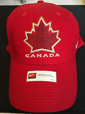 Genuine Hockey Canada Vancouver 2010 Olympics Nike Swoosh Flex Men's Hat L/XL