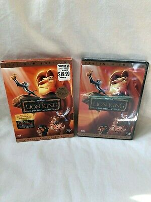 Disney The Lion King Platinum Edition 2-Disc Special Edition DVD New Sealed