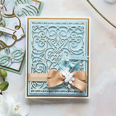 Lace Border Background Metal Cutting Dies for Scrapbooking DIY Frame Craft
