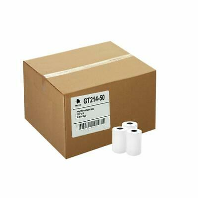 PACK of 50 Rolls Paper 2.25 in X 50 ft Thermal Roll Verifone Vx520 BPA Free NEW