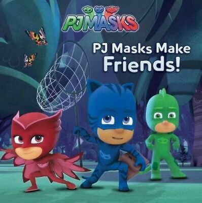 NEW PJ Masks Make Friends! By Cala Spinner Paperback Free Shipping