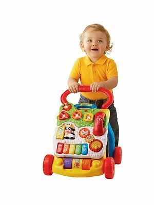 VTech Baby First Steps Walker Activity Fun Learn Music Child Role Play Boy Girl