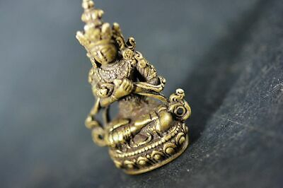 Collection Chinese Brass copper *Tibetan Buddha* Lucky pendant  H54