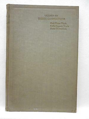 Book: VERSES BY THREE GENERATIONS 1921  Woods & Davis Poetry University of MD