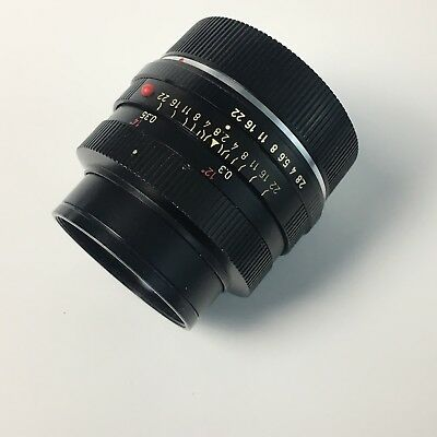 Excellent Leitz Elmarit-R 35mm F2.8 Lrns For Leicaflex