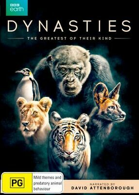 NEW Dynasties DVD Free Shipping