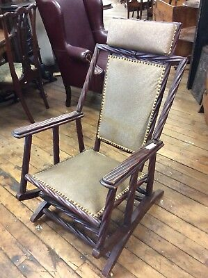 Hunzinger Platform Rocking Chair