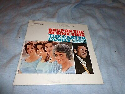 The Carter Family Record Album LP with Johnny Cash Keep On The Sunnyside