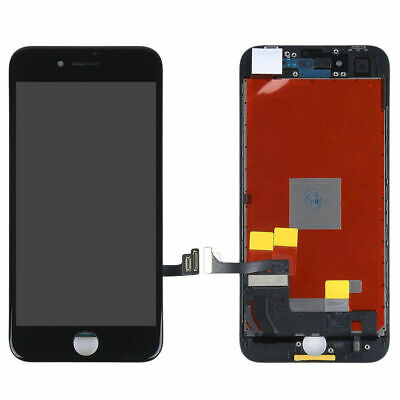 """New For iPhone 8 4.7"""" Black LCD Touch Screen Digitizer Assembly Replacement AAA+"""