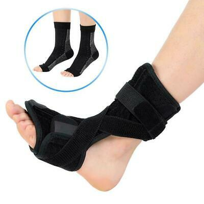 Plantar Fasciitis Night Splint Therapy Heel Pain Relief Foot Drop Orthotic Brace