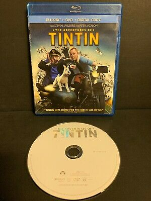The Adventures of Tintin (Blu-ray/DVD, 2012, 2-Disc Set)