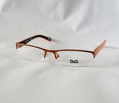 cb6e00bf1efd New Dolce   Gabbana D g 5069 353 Orange Authentic Rx Eyeglasses D g5069 50 -16